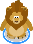 Lion Costume In-Game