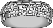 Secret Deluxe Stone Igloo (in-game)
