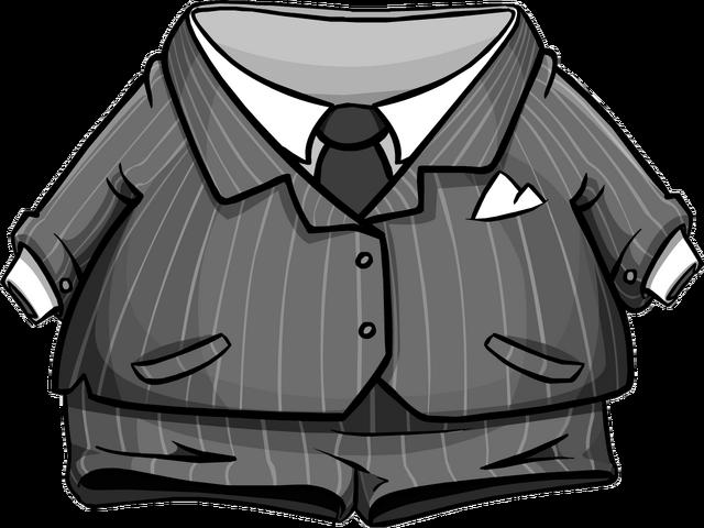 File:Grey Pinstripe Suit.png