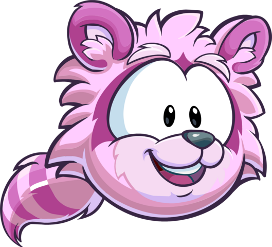 File:Pink Raccoon Puffle CP Times issue 485.png