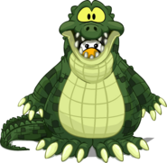 Crock Costume on a Player Card