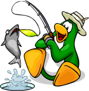 Game Upgrades fishing penguin