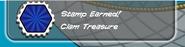 Clam treasure earned