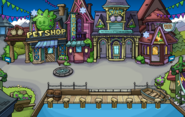 Frozen Party Plaza