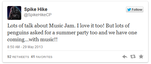 File:Spike Hike Confirm Tweet for Summer Music Jam.png