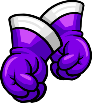 Purple SuperHero Gloves