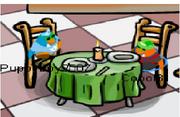 Coool and puppyboy at Burger Khan