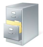 Windows file cabinet .cab icon