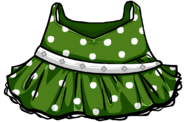 GreenPolka-DotDress
