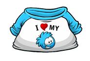IHeartMyBluePuffleT-Shirt