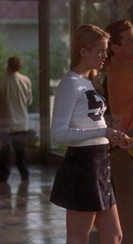 File:Cher Horowitz wearing a skirt and a white top.JPG