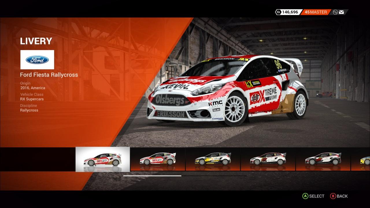 DiRT 4 Ford Fiesta Rallycross