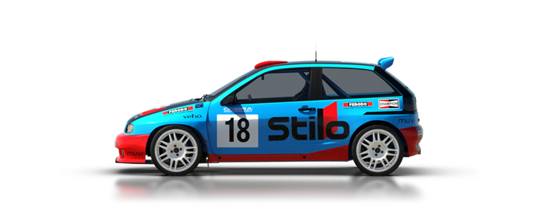 DiRT Rally Ibiza Kitcar