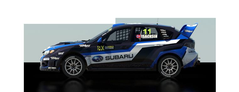 DiRT Rally Subaru WRX STI