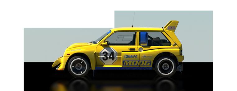 DiRT Rally MG Metro 6R4