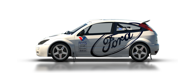 DiRT Rally Ford Focus RS Rally 2001