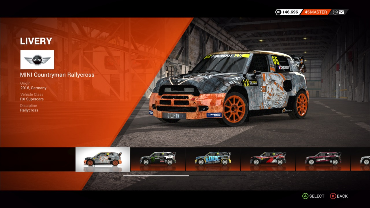 DiRT 4 Mini Countryman Rallycross