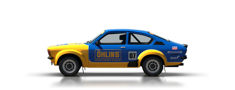 DiRT Rally Opel Kadett GT E 16v