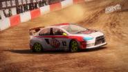 Mitsubishi Lancer Evolution X - Rallycross