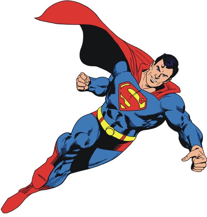 animated superman clipart - photo #48