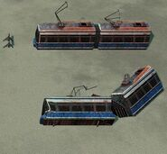 Railway transport in Tiberium Wars(6)