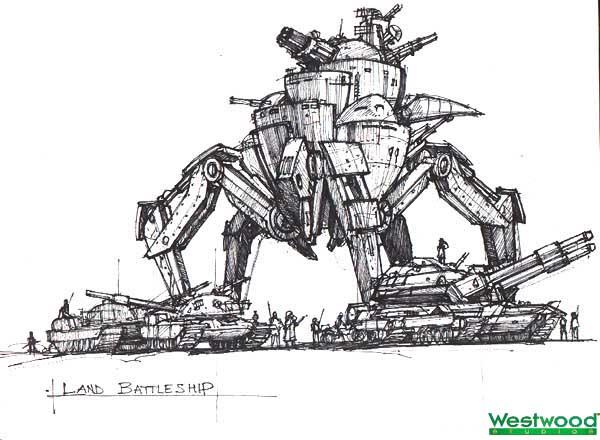 File:RA2 Land Battleship Concept.jpg