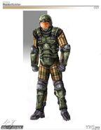 Renegade GDI Rocket soldier concept art
