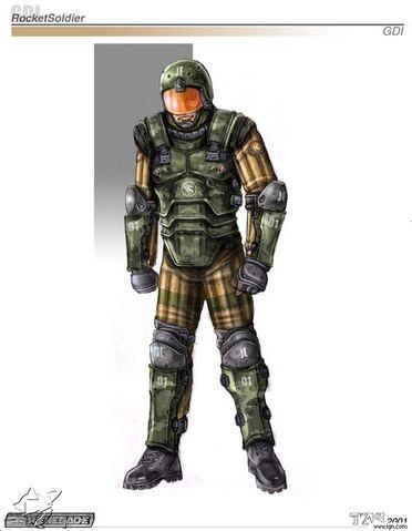 File:Renegade GDI Rocket soldier concept art.jpg