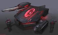 CNCTW Scorpion Tank Concept Art 1