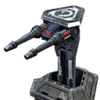 CNCTW Laser Turret Cameo