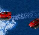 Corkscrew transport