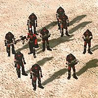 KW Militant squad with Confessor