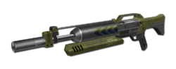 CNCR Scorpion Railgun
