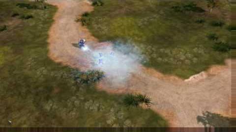 C&C Red Alert 3 Uprising Cryo Legionaire Surveillance Footage
