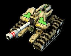 CNC4 Spartan Tank Render