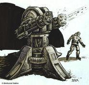 Gattling cannon Concept