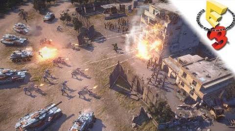 COMMAND & CONQUER - First Impressions - E3 2013