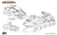 RA3 Athena Cannon Concept Art 1