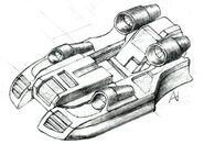 Renegade Hovercraft concept art