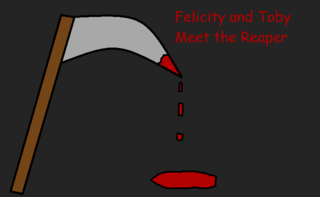 Felicity and Toby Meet the Reaper Title Card