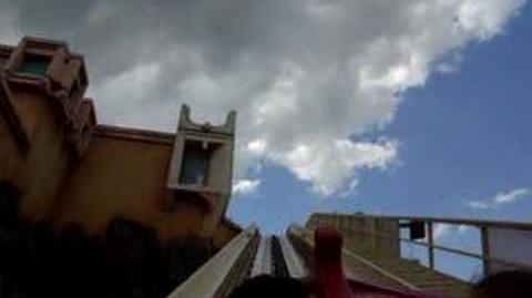 Journey to Atlantis (SeaWorld Orlando) - OnRide - (360p)