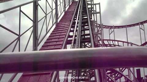 Looping Star (Codona's Amusement Park) - OnRide (1080p)