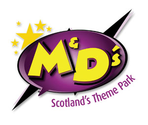 M&D's Scotland's Theme Park logo