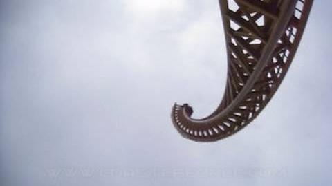 Vertical Velocity (Six Flags America) - POV (720p)