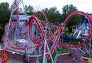 G Force roller coaster