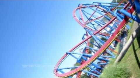 Superman - Ultimate Flight (Six Flags Over Georgia) - OnRide - (720p)