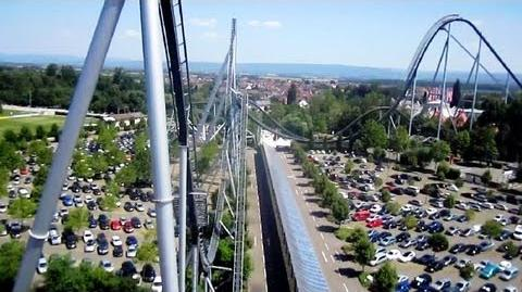 Silver Star front seat on-ride HD POV Europa Park