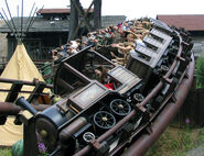 Colorado Adventure Phantasialand Mine Train