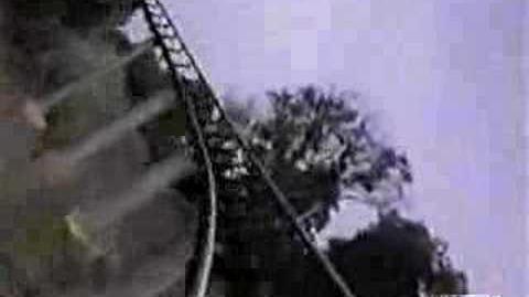 Steel Phantom (Kennywood) - OnRide (360p)