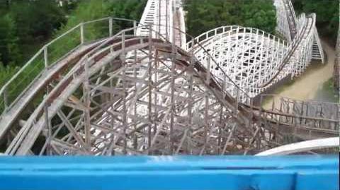 Rolling Thunder (Six Flas Great Adventure) - OnRide